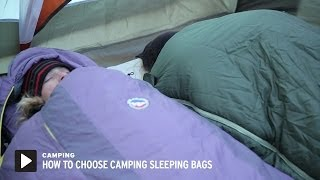 How to Choose Camping Sleeping Bags || REI