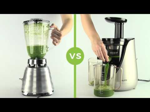 Descubre la diferencia de un extractor de jugos en frío VS licuadora