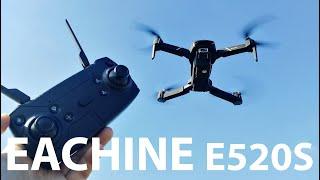 EACHINE E520S ОБЗОР GPS КВАДРОКОПТЕР С 4K КАМЕРОЙ 2019