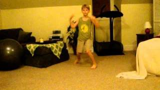 My Little Brother's Numchuck Dance (1)