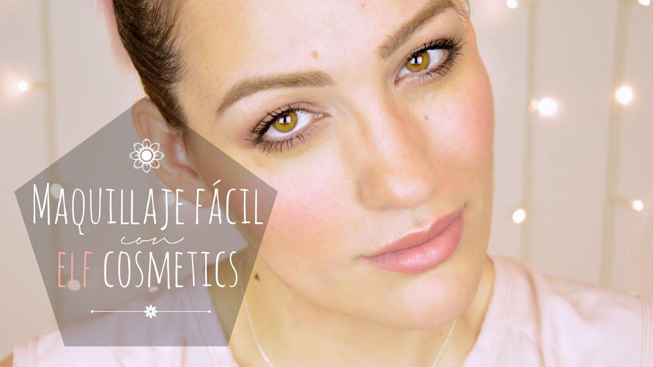 Tutorial maquillaje muy fácil con productos ELF cosmetics