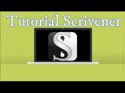 Tutorial Scrivener + Sorpresa!!!