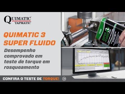 Vídeo: QUIMATIC 3 SUPER FLUIDO – Para metais de elevada dureza