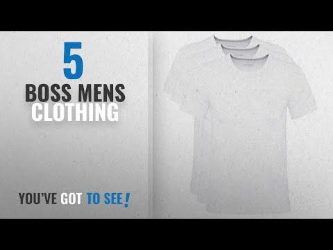 Top 10 Boss Mens Clothing [2018]: BOSS Hugo Boss Men's T-Shirt