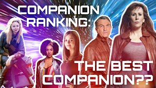 WHO'S THE BEST COMPANION? (Doctor Who Ranking, Top Ten Tardis Teams List!)