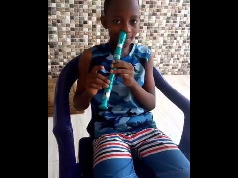 Muyiwa Ademola's Son Shows Off His Nostril Recorder Skills