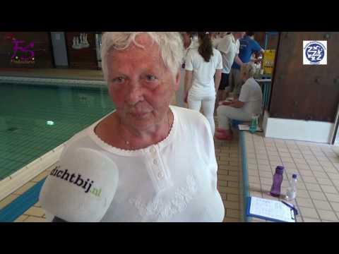 Primeur voor Masters van ZuiderZeeZwemmers Dronten (video)