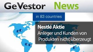 Nestle-Aktie: Gesundheit zahlt sich nur langsam aus