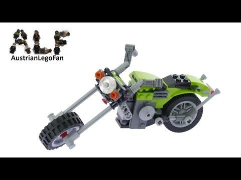 Vidéo LEGO Creator 31018 : Le chopper