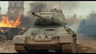 """Танковый бой (отрывок из фильма """"Белый тигр"""")"""
