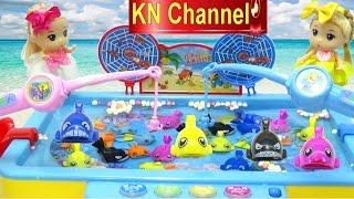 Đồ chơi Câu Cá công nghệ cao Búp bê & trò chơi câu cá fishing toys game Baby Doll Kids toys