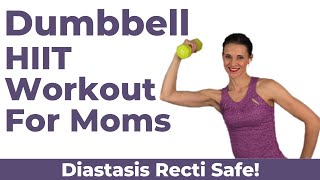 Postnatal HIIT Workout With Weights