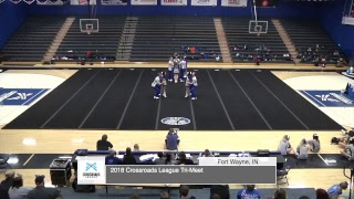 2018 Crossroads League Cheer Invitational