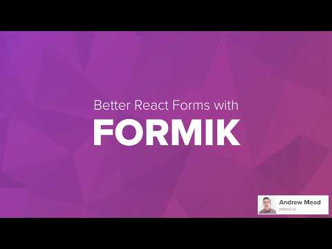 Taming Forms in React - JARED PALMER - смотреть онлайн на Hah Life