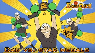 Wii Punch-Out!! with Punch-dad, part 2: Star Medals (B-day Stream!)
