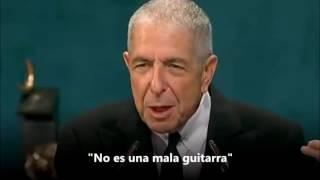 Leonard Cohen - Leonard Cohen Speech Prince Of Asturias