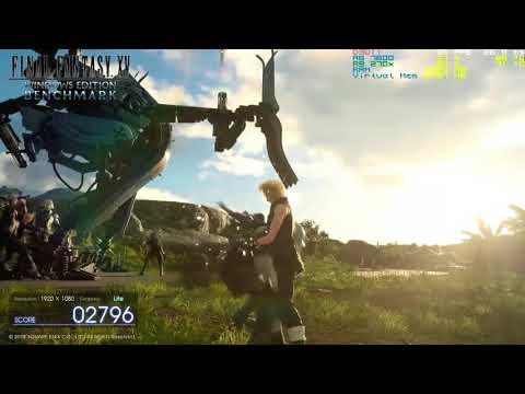 Monster Hunter World Benchmark | A8 7600 + R9 270x