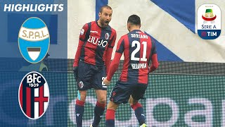 SPAL 1-1 Bologna   Bologna stay in relagation places despite away point   Serie A