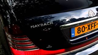 First Maybach 62S 2011 in Holland