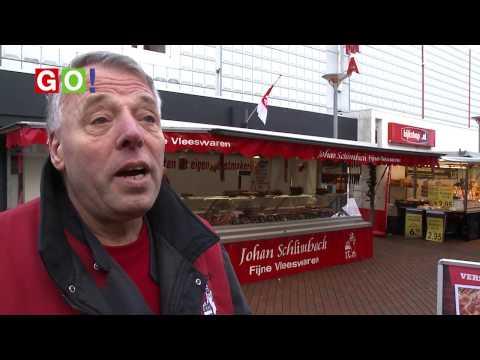 marktkoopman Geert Nieboer neemt afscheid van zijn zaterdagmarkt - RTV GO! Omroep Gemeente Oldambt