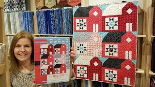THIS QUILT HAS BARNS!