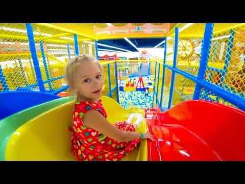ВЛОГ Развлекательный центр с игрушками - Видео для детей | Папа Шон Кидс видео
