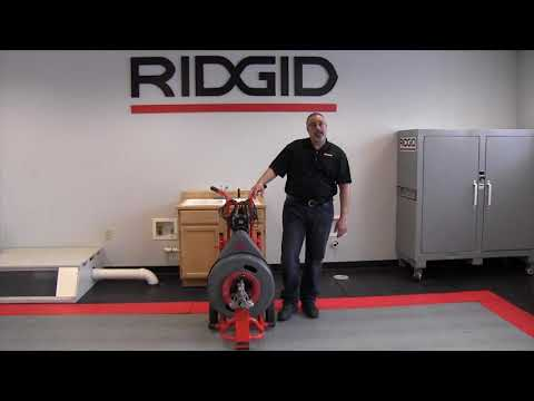 Meet the RIDGID K7500 professional drain cleaning machine