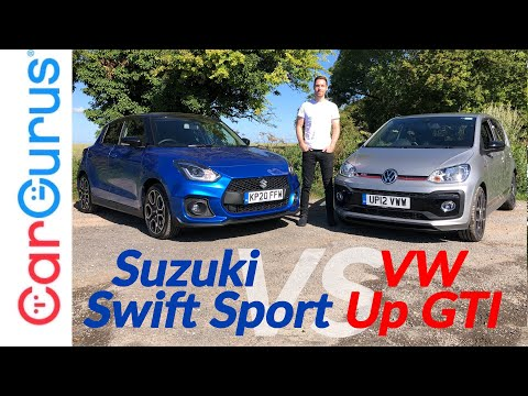 2020 Suzuki Swift Sport vs VW Up GTI: Which is the best junior hot hatch? | CarGurus UK
