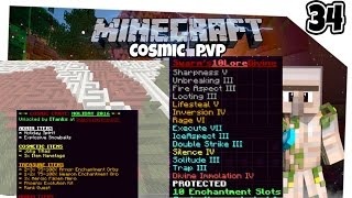 CC From MAZE and 3 God Set Kills Minecraft factions Cosmic PVP Ep 34 - Alien planet Map 5 (Season 4)