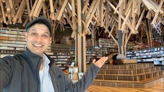 Japan's Most Beautiful Library (Designed By Kengo Kuma)