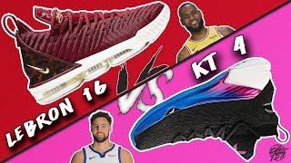 Nike Lebron 16 vs ANTA KT 4!