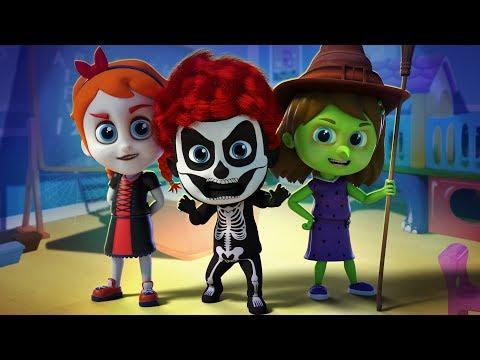 Its Halloween | Schoolies Nursery Rhymes & Kids Songs | Music For Children | Kids Channel Cartoons