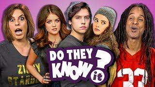 DO PARENTS KNOW MODERN TEEN SHOWS? (REACT: Do They Know It?) - Video Youtube
