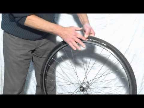 Fahrrad-Reifen-Montage-Aufziehen-Wechseln