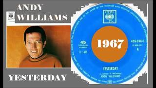 Andy Williams - Yesterday (Vinyl)
