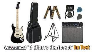 """VIP-Guitar """"Einsteigerpaket E-Gitarre im Test"""""""