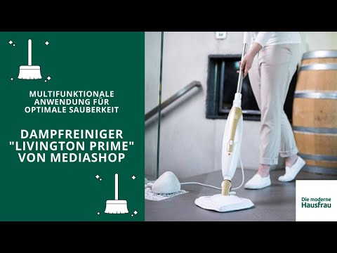 Livington Prime Steam Mop Multifunktionaler 10-in-1 Power Dampfreiniger