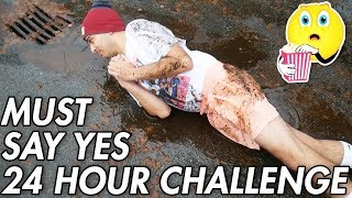 I Only Said YES for 24 HOURS And Didn't Expect This... (ONLY ANSWER YES CHALLENGE)