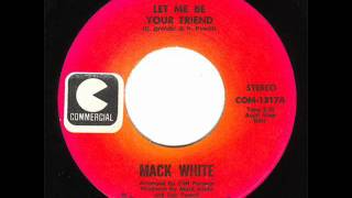"Mack White ""A Stranger To Me"""