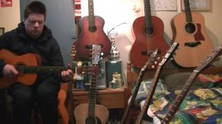 """The Irish Rovers: """"Fiddler's Green"""" (old guitar cover)"""