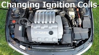 Peugeot 406 V6 - Changing Ignition Coils in Under 26 Minutes