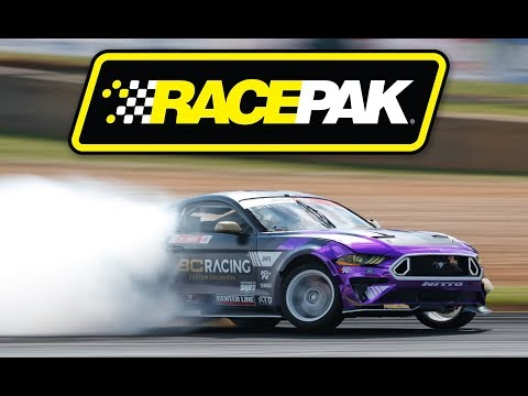 154 MPH Drift Record! Hyperfest 2019 - Chelsea Denofa's Ford Mustang Drift At VIR
