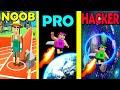 NOOB vs PRO vs HACKER in Jetpack Jump J