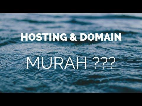 Hosting dan Domain Murah tapi ngga murahan