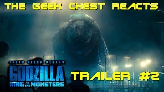 Godzilla: King Of The Monsters (2019) - Trailer #2 Reaction And First Impressions