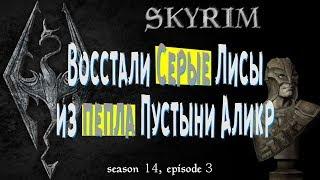 ✅Восстали Серые Лисы из пепла пустыни Аликр. 👍 [Skyrim, season 14, episode 3]