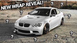 NEW E92 M3 WRAP REVEAL!!!