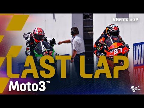 Moto3 2021 カタルニアGP 決勝レースのラストラップの走りを捉えた動画