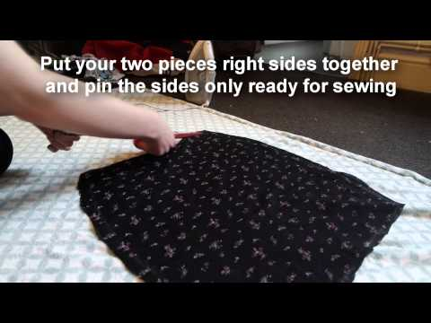 Download How To Sew: Bodycon/ Pencil Skirt (No Zip/ Elastic) HD Mp4 3GP Video and MP3