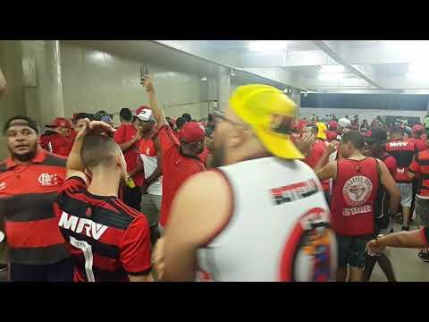 Torcida Raça Rubro Negra na Rampa do Maraca - Flamengo